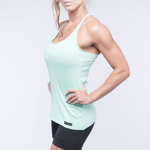 Everywhere Tank - Sweet Mint Green