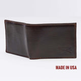 Grunt Style Brown Leather Wallet