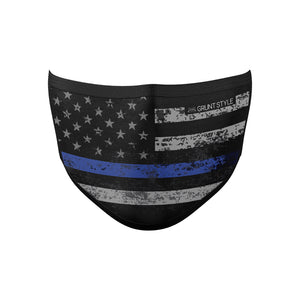 Blue Line Premium Face Mask