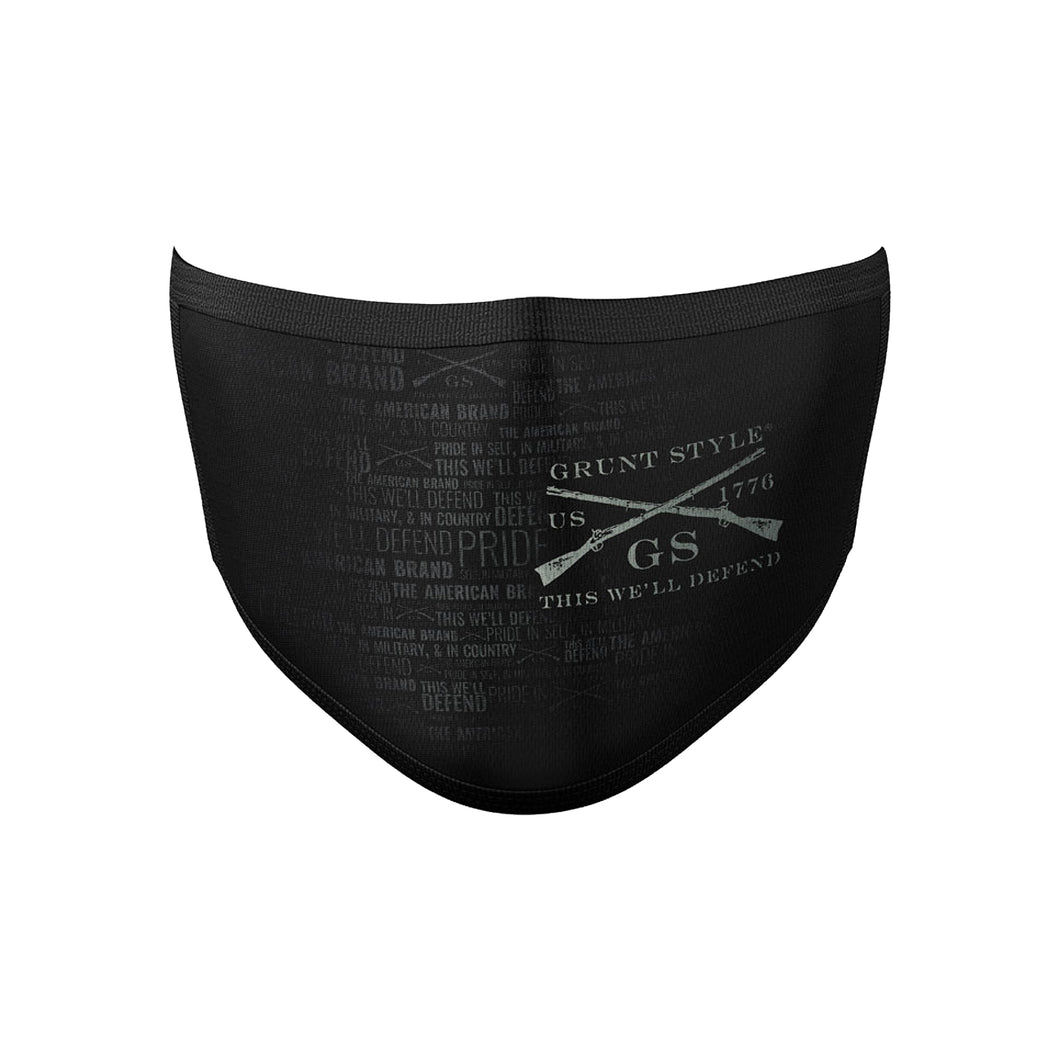 Grunt Style Limited Premium Face Mask