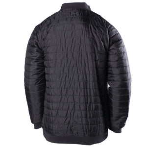 Insulated Bomber Jacket - Black