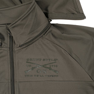 Full Zip Cold Weather Compression Jacket