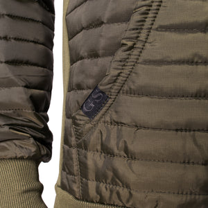 Insulated Hoodie - Military Green