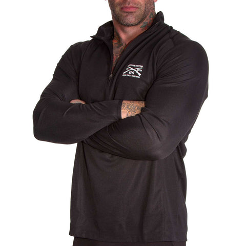 Reflex Quarter Zip - Black