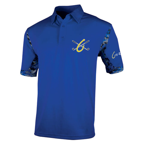 Git-R-Done Men's Polo - Royal