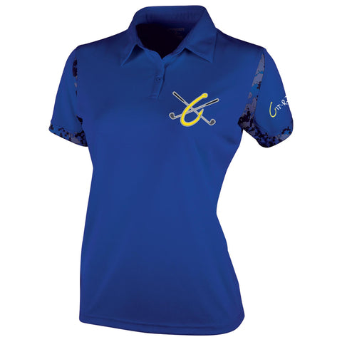 Git-R-Done Ladies Polo - Royal