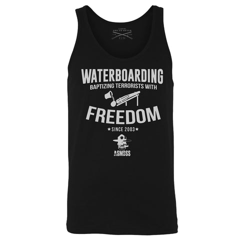 ASMDSS - Waterboarding with Freedom Tank