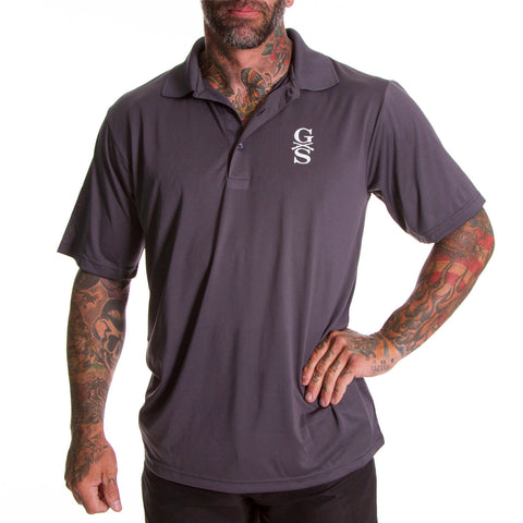 Charcoal Pro Performance Polo