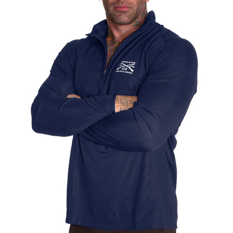 Reflex Quarter Zip - Navy