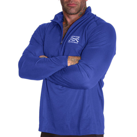 Reflex Quarter Zip - Royal