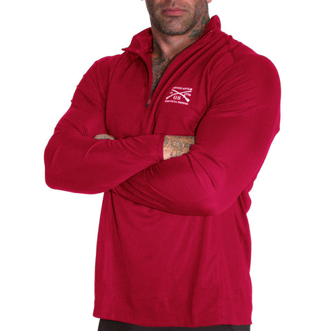 Reflex Quarter Zip - Red
