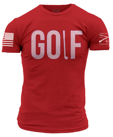 Golf Tee - Red