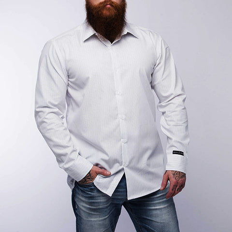 Pro Button Up II - White