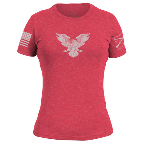 Ladies Basic Freagle Red