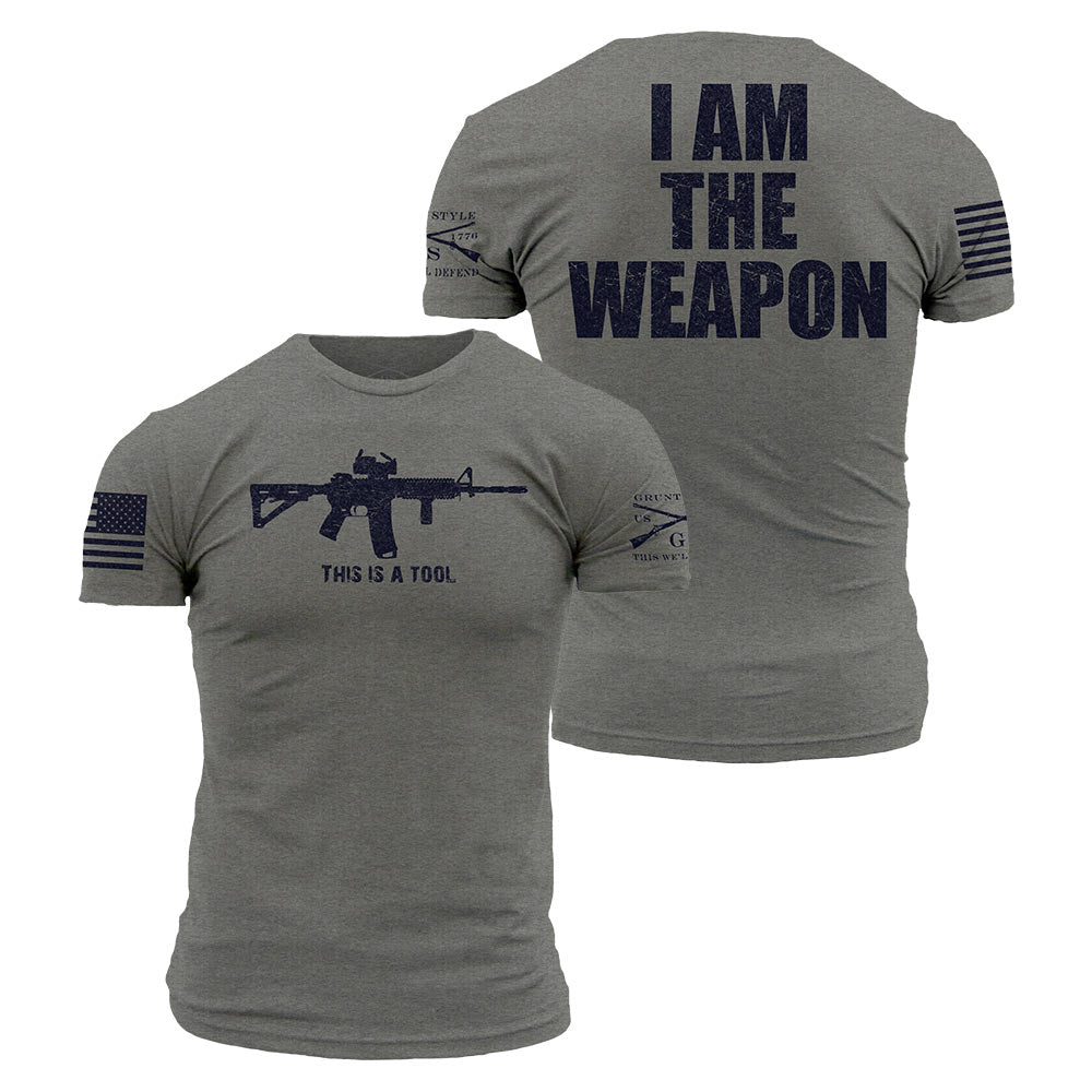 a61e1ccd0 I Am The Weapon – Grunt Style, LLC