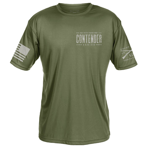 Contender Performance Tee - Green