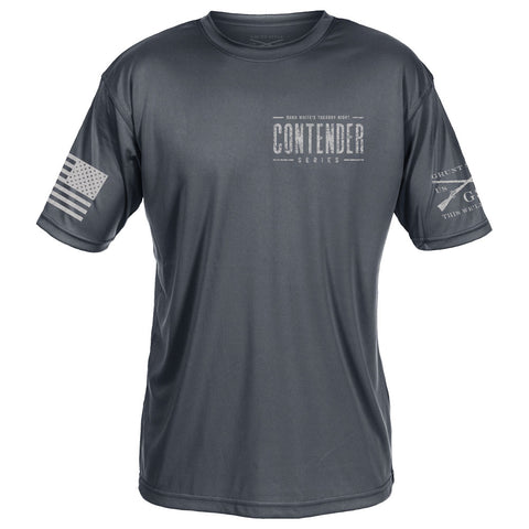 Contender Performance Tee - Charcoal
