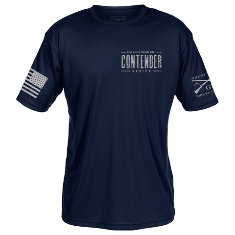 Contender Performance Tee - Navy