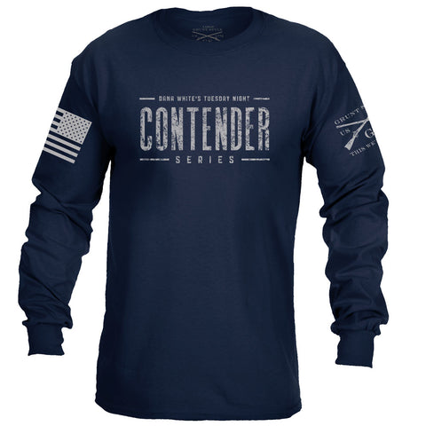 Contender Long Sleeve - Navy