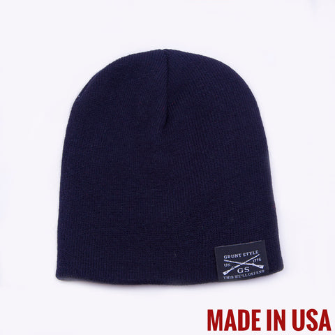USA Navy Blue Beanie