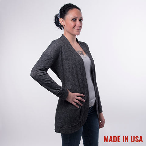 Women's Cardigan - Black