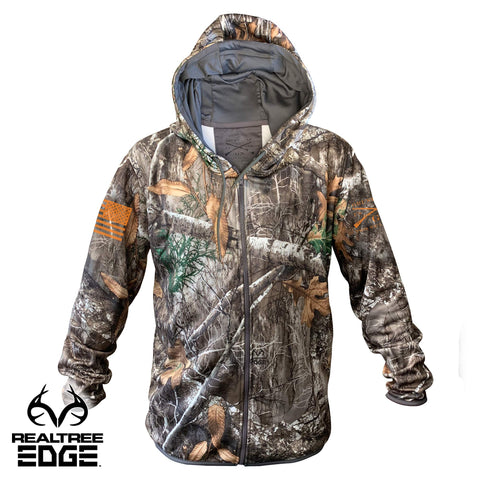 Realtree Edge® Zip-Up Hoodie - Basic