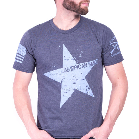 Star Tee - Heather Indigo