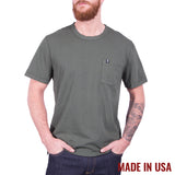 Pocket Tee - Forest Green