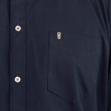 Men's Concord Cotton Short Sleeve Shirt - Navy