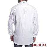 Grunt Style Men's Lexington Poly/Cotton Long Sleeve Shirt - White