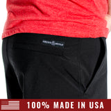 Men's Hybrid Short - Black