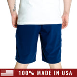 Men's Hybrid Short - Navy