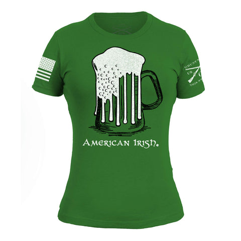 Green Beer Flag - Women's