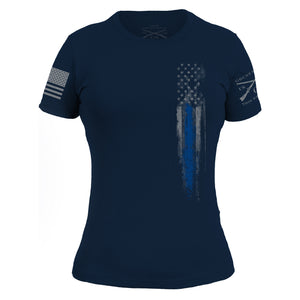 Blue Line Flag - Women's