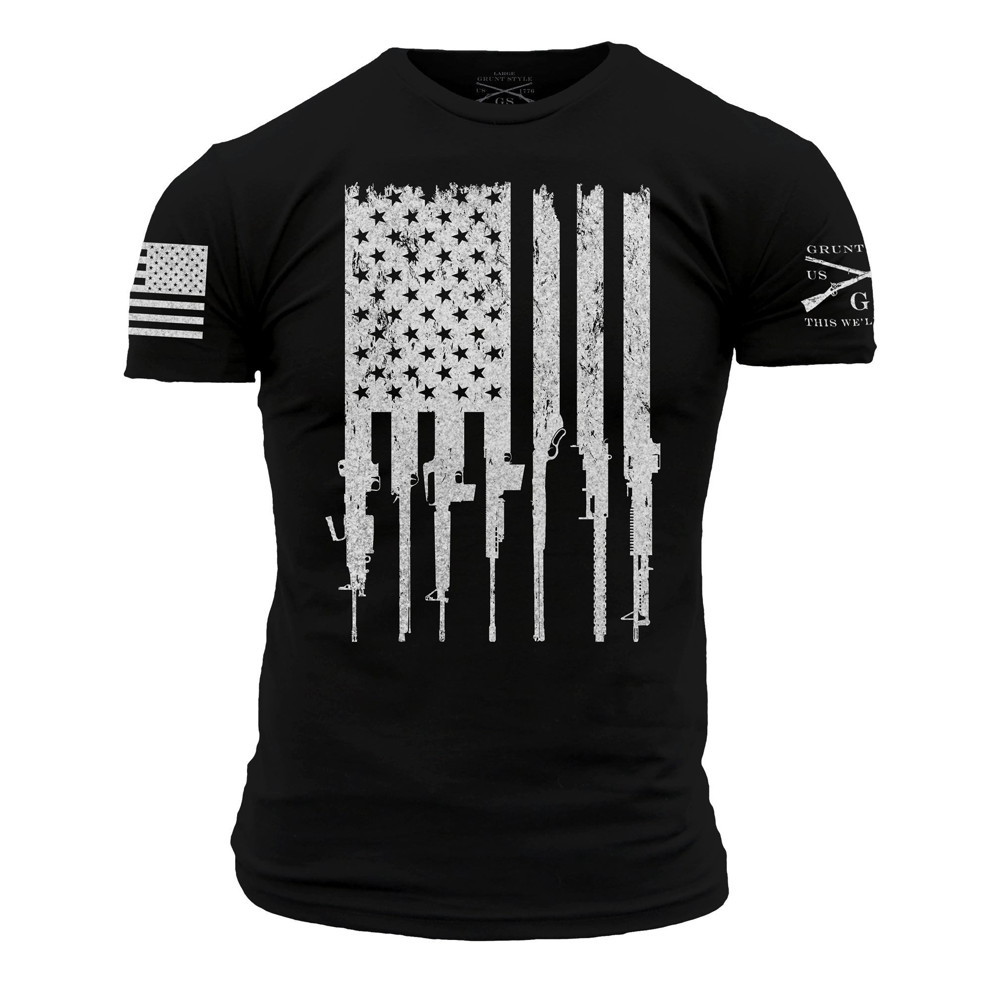 Rifle Flag Black