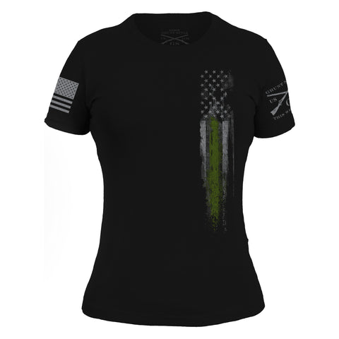 Green Line Flag - Women's