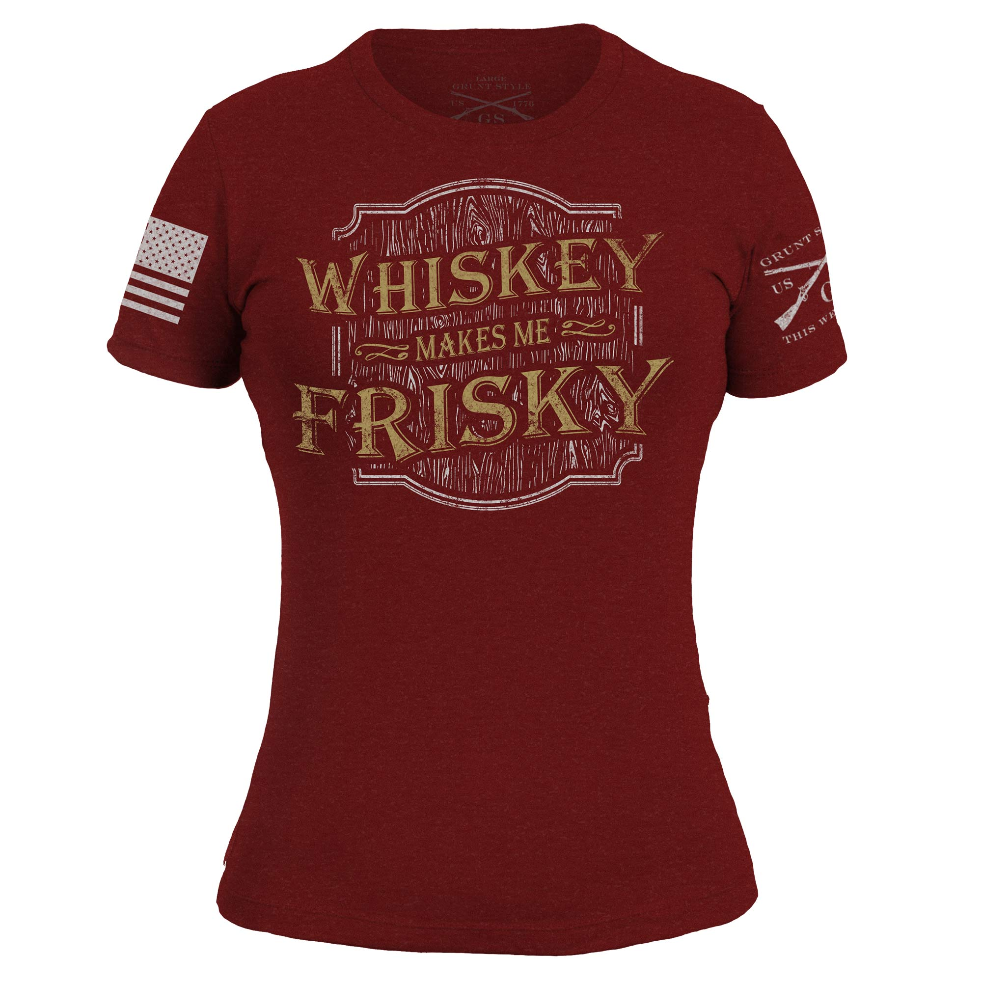 Whiskey Makes Me Frisky - Cardinal