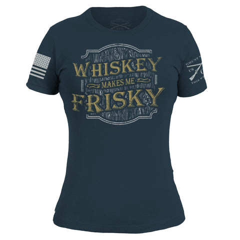 Whiskey Makes Me Frisky - Indigo
