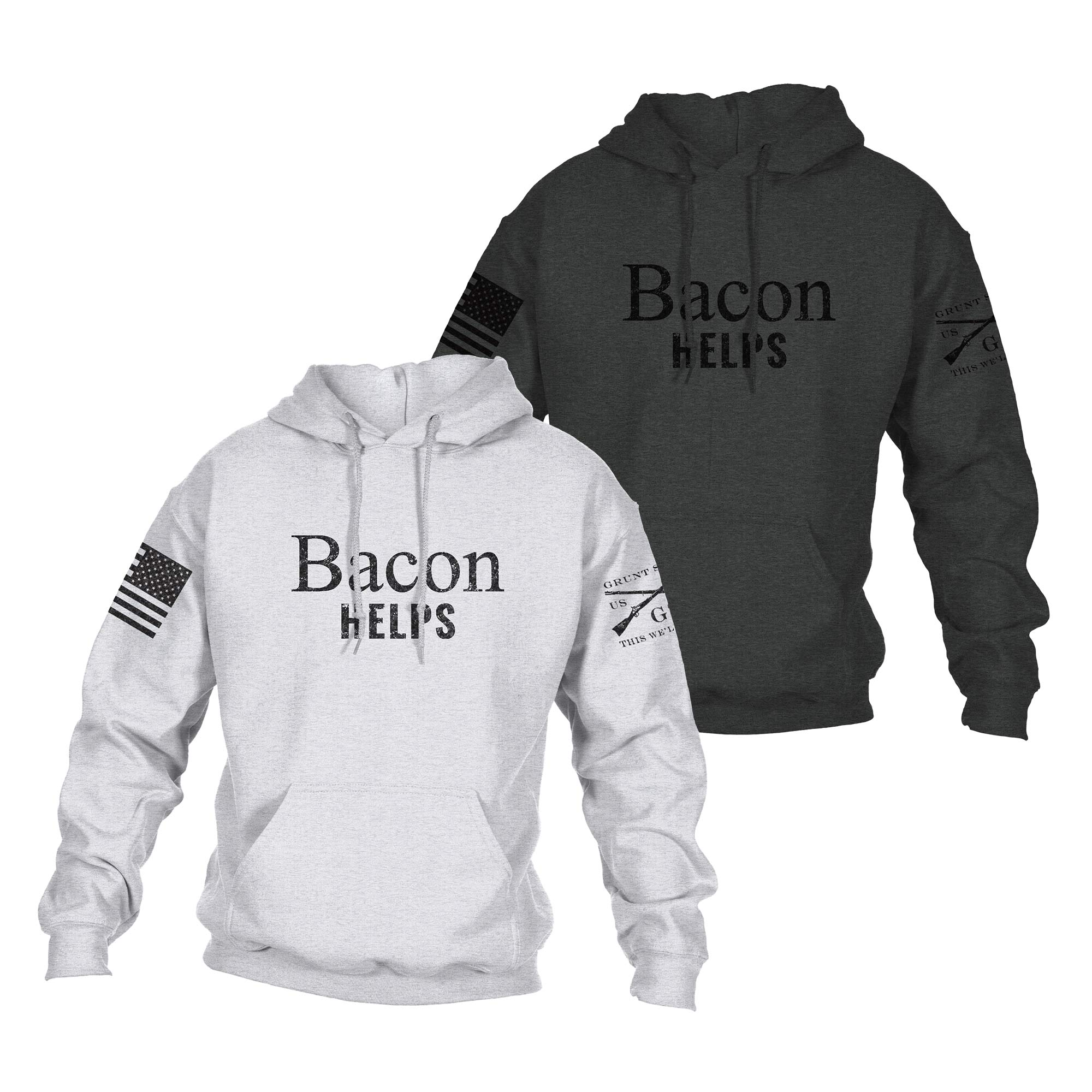 Bacon Helps Hoodie
