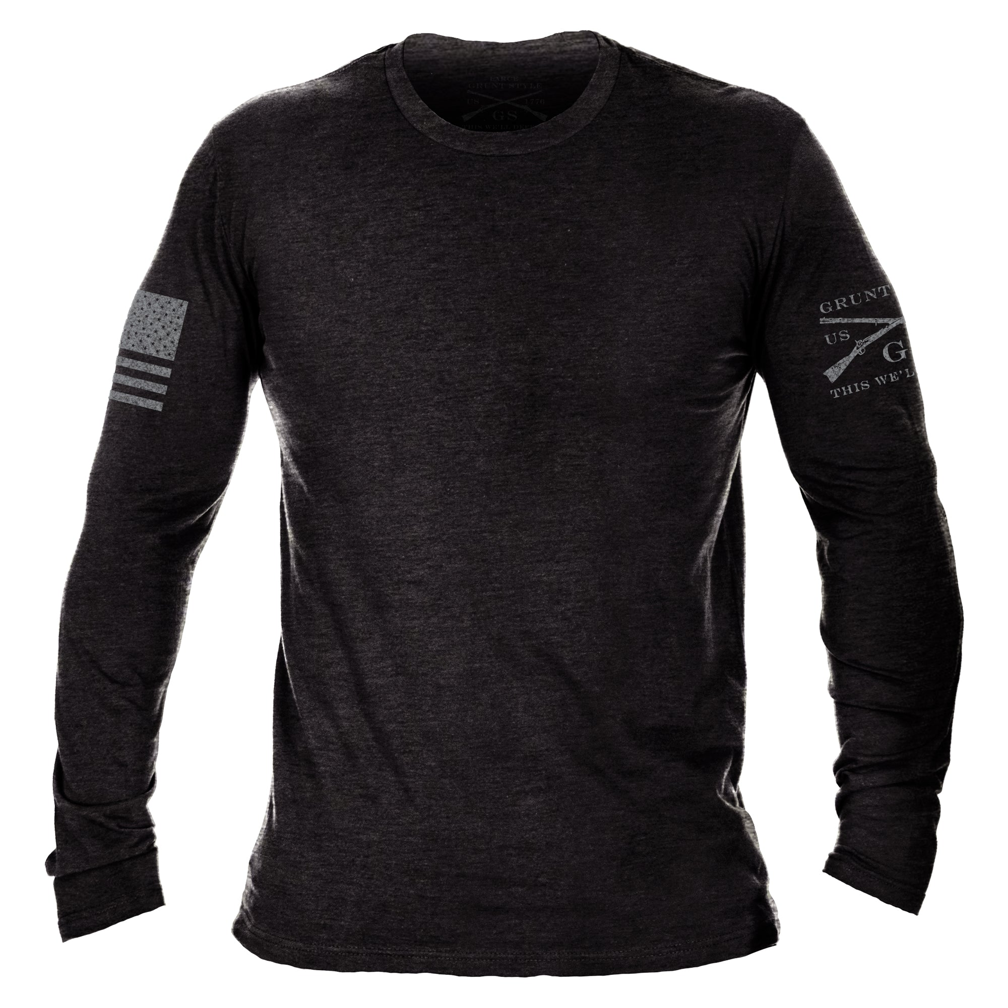 Basic Long Sleeve - Black Heather