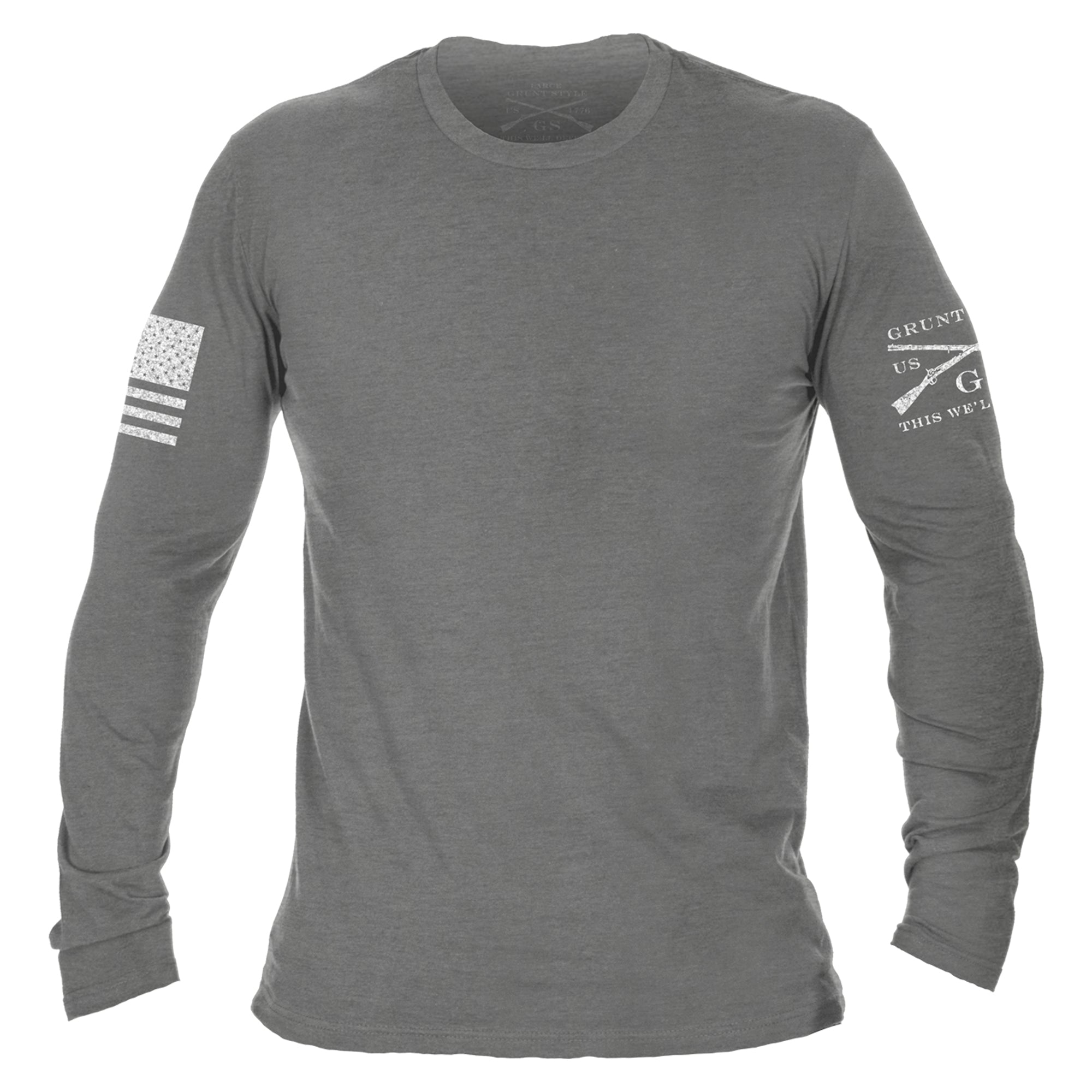 Basic Long Sleeve - Deep Heather