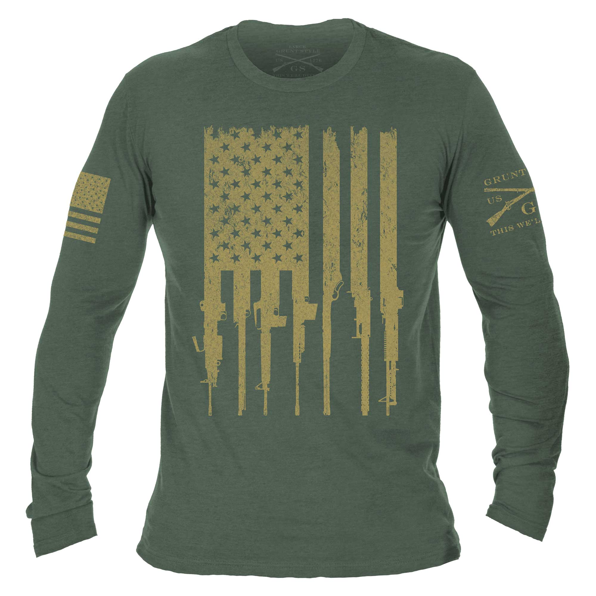 Rifle Flag Long Sleeve