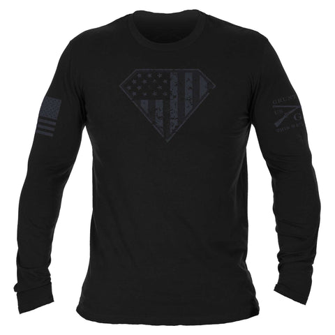 Super Patriot Long Sleeve - Black
