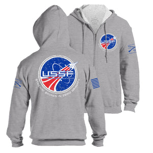 Space Force Full-Zip Hoodie