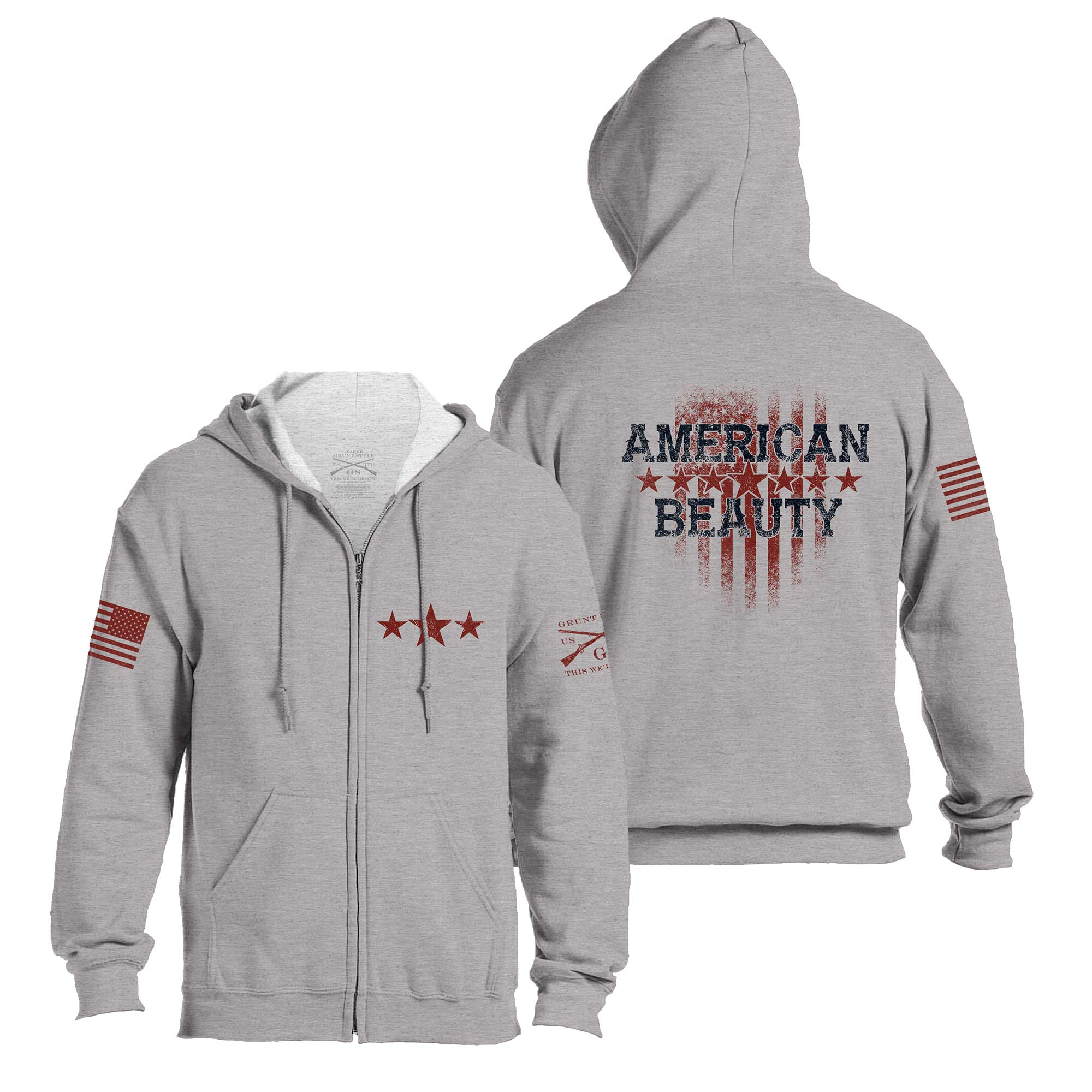 American Beauty Full-Zip Hoodie