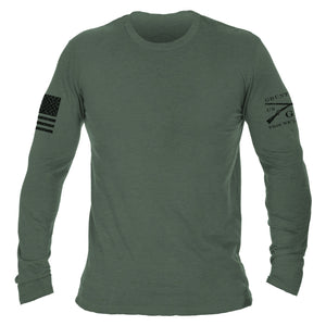 Basic Long Sleeve - Heather Forest