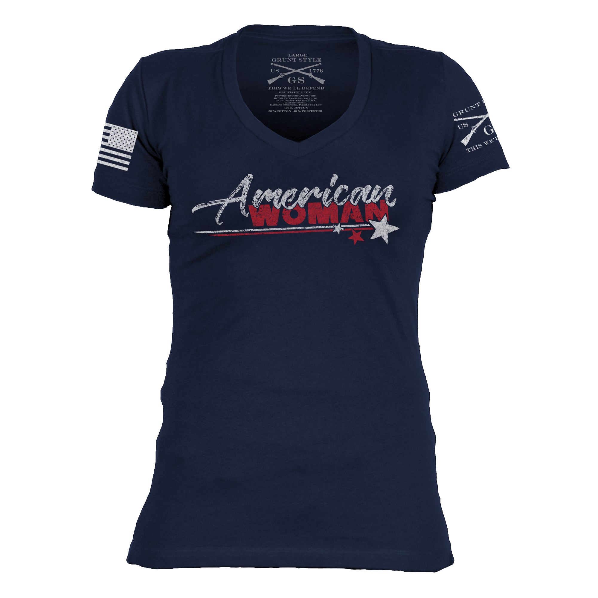 American Woman V-Neck
