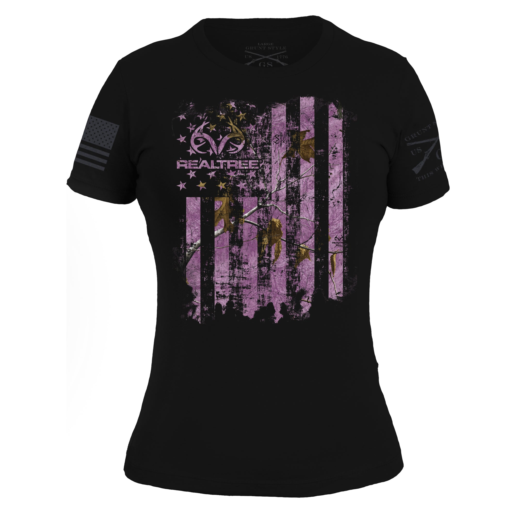 Realtree Xtra® Wild Orchid - American Huntsman Flag - Women's