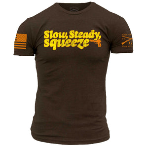 Slow, Steady, Squeeze - Brown