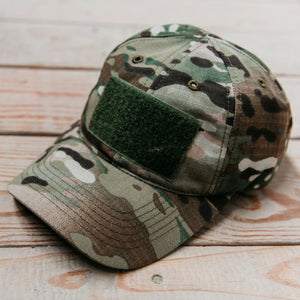 GS Multicam Operator Hat - Olive Patch